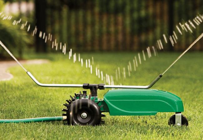 Простая система Дождеватель полив газон тракторного типа ороситель садовый